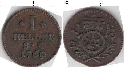Каталог монет - Эрфурт 1 хеллер