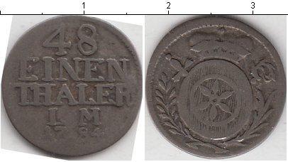 Каталог монет - Эрфурт 1/48 талера