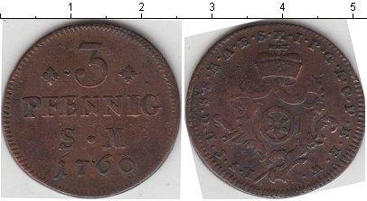 Каталог монет - Эрфурт 3 пфеннига