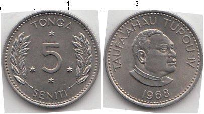 Каталог монет - Тонга 5 сенити