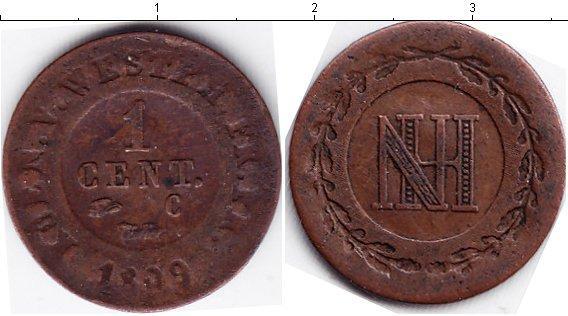 Каталог монет - Вестфалия 1 сантим
