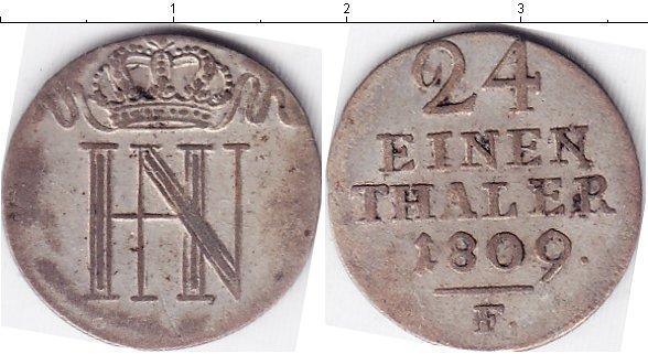 Каталог монет - Вестфалия 1/24 талера