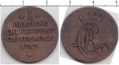 Каталог монет - Шлезвиг-Гольштейн 1 дрейлинг