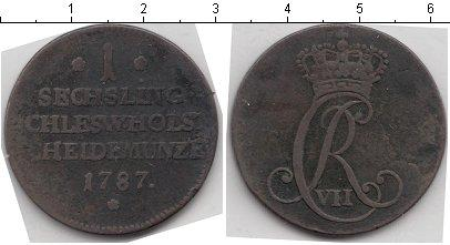 Каталог монет - Шлезвиг-Гольштейн 1 сешлинг