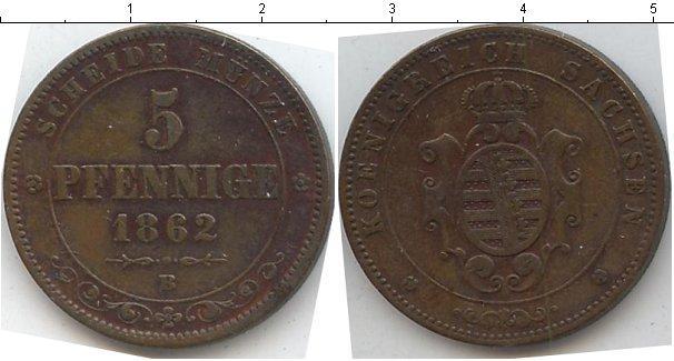 Каталог монет - Саксен-Альтенбург 5 пфеннигов