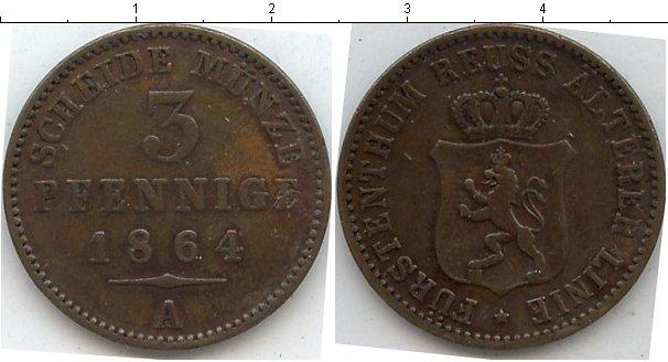 Каталог монет - Рейсс-Оберграйц 3 пфеннига