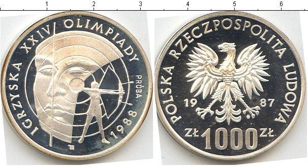 Каталог монет - Польша 1000 злотых