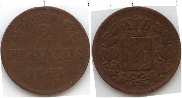 Каталог монет - Пруссия 2 пфеннига