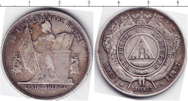 Каталог монет - Гондурас 1/2 песо