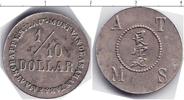 Каталог монет - Индонезия 1/10 доллара