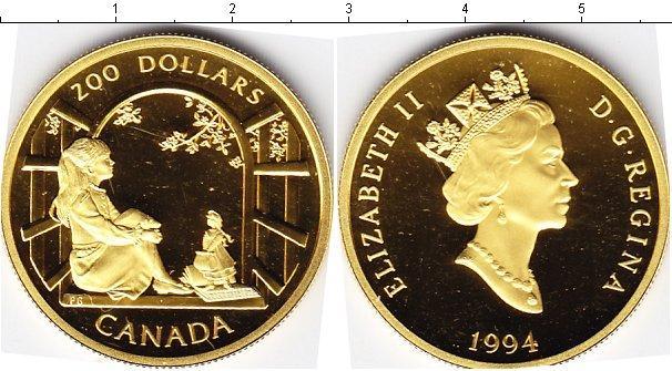 Каталог монет - Канада 200 долларов
