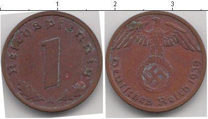 Каталог монет - Третий Рейх 1 пфенниг