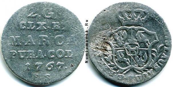 Каталог монет - Речь Посполита 2 гроша
