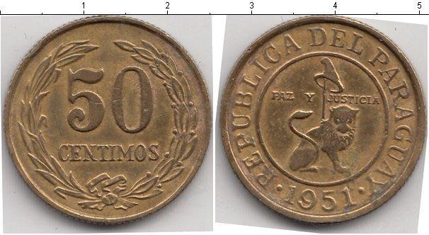 Каталог монет - Парагвай 50 сентим