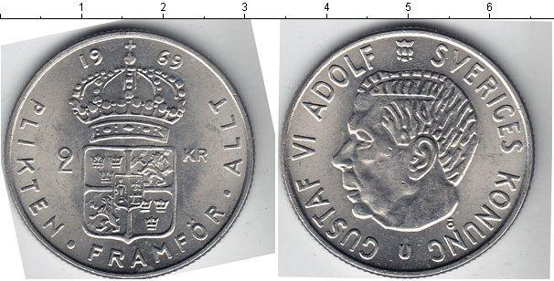 Каталог монет - Швеция 2 кроны