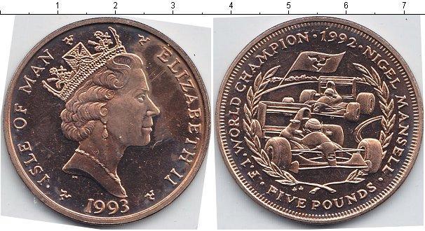 Каталог монет - Остров Мэн 5 фунтов