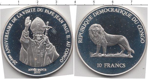 Каталог монет - Конго 10 франков