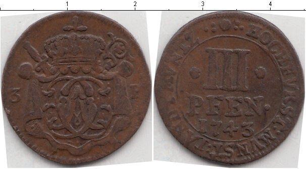 Каталог монет - Мюнстер 3 пфеннига