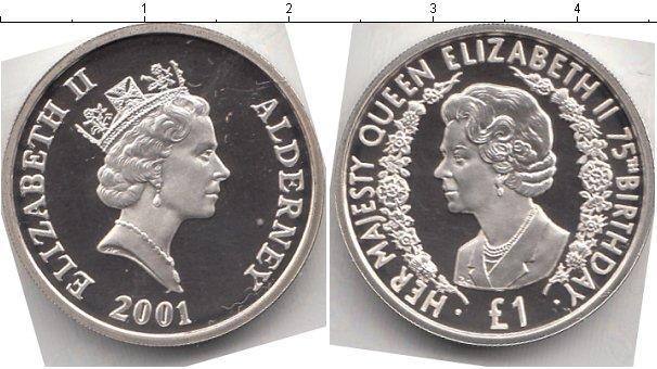 Каталог монет - Олдерни 1 фунт
