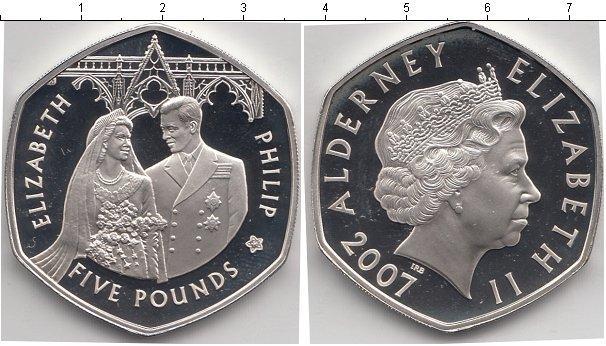 Каталог монет - Олдерни 5 фунтов
