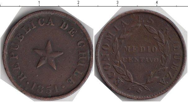 Каталог монет - Чили 1/2 сентаво
