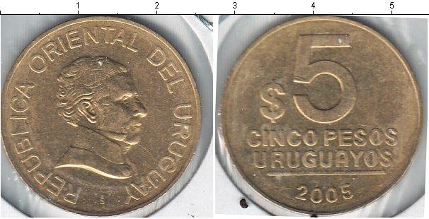 Каталог монет - Уругвай 5 песо