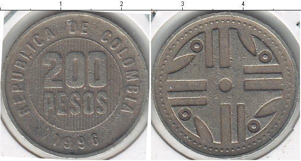 Каталог монет - Колумбия 200 песо