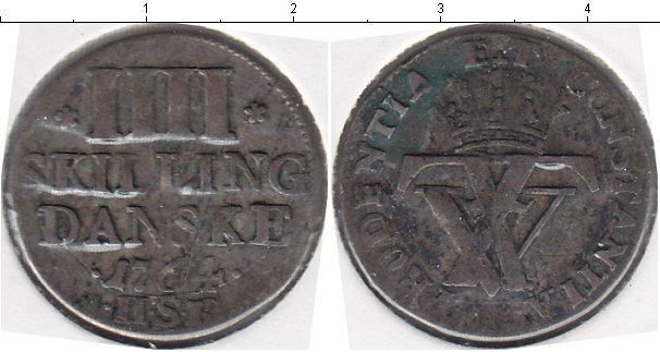 Каталог монет - Дания 4 скиллинга