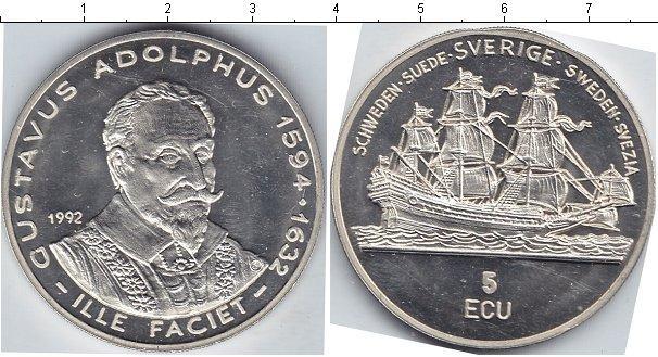 Каталог монет - Швеция 5 экю