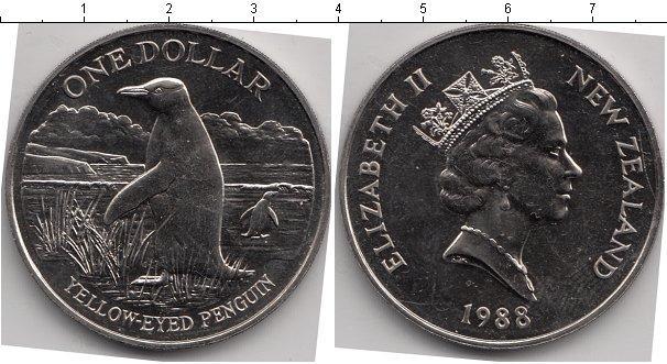 Каталог монет - Новая Зеландия 1 доллар