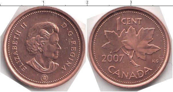 Каталог монет - Канада 1 цент