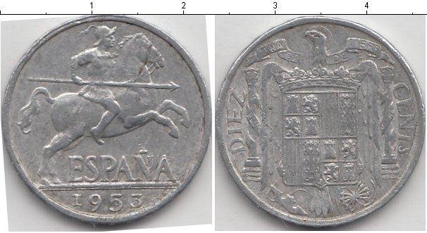 Каталог монет - Испания 10 сентаво