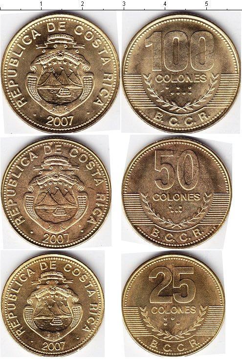 Каталог монет - Коста-Рика Коста-Рика 2007