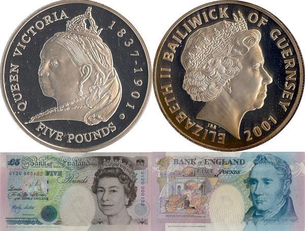 Каталог монет - Гернси Королева Виктория