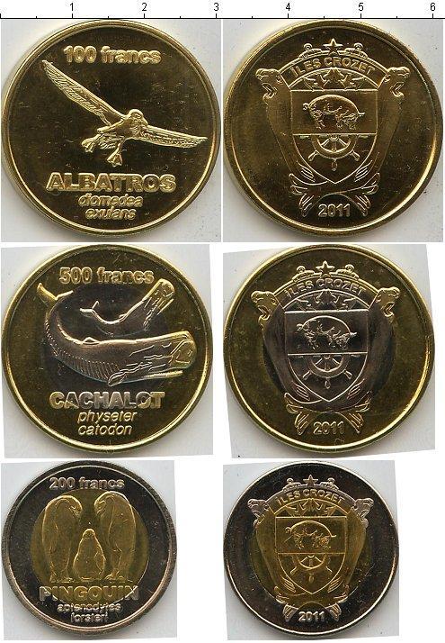 Каталог монет - Остров Крозет Остров Крозет 2011