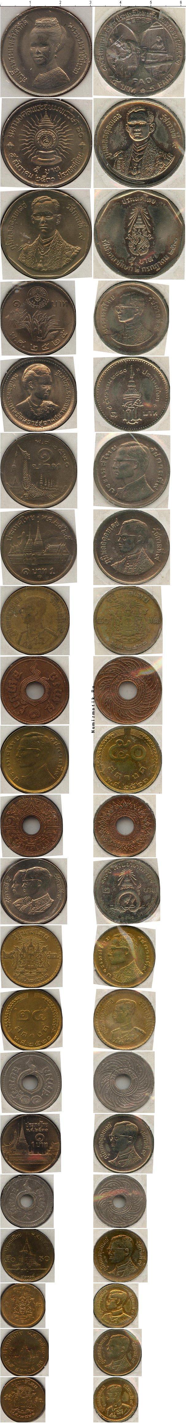 Каталог монет - Таиланд Монетная система Таиланда