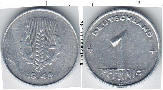 Каталог монет - ГДР 1 пфенниг
