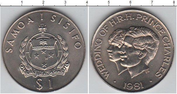 Каталог монет - Самоа 1 тала