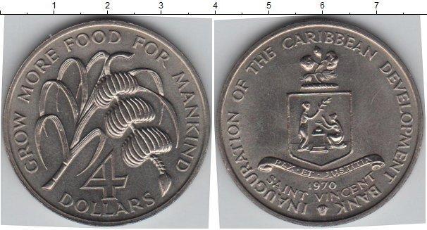 Каталог монет - Сент-Винсент и Гренадины 4 доллара