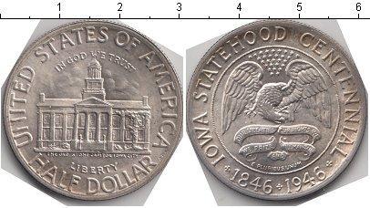 Каталог монет - США 1/2 доллара