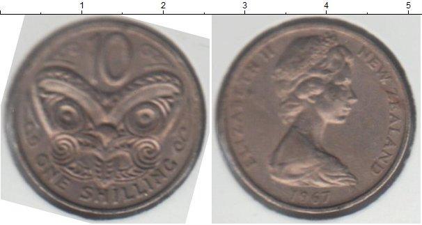 Каталог монет - Новая Зеландия 1 шиллинг