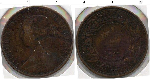 Каталог монет - Новая Скотия 1 пенни