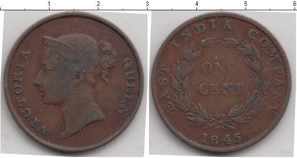 Каталог монет - Британская Индия 1 цент