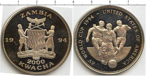 Каталог монет - Замбия 2000 квач
