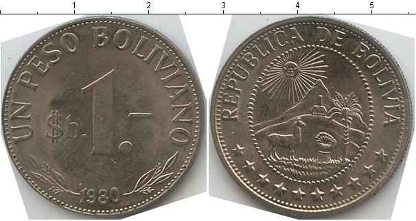 Каталог монет - Боливия 1 боливар