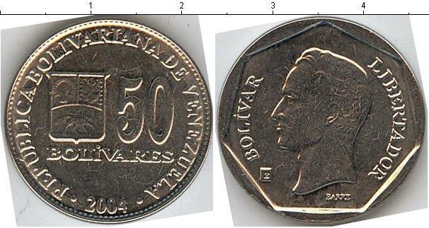 Каталог монет - Венесуэла 50 боливар