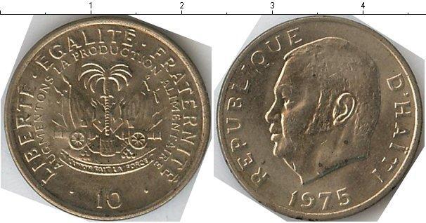 Каталог монет - Гаити 10 сантим