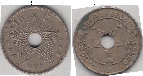 Каталог монет - Бельгийское Конго 10 сентим