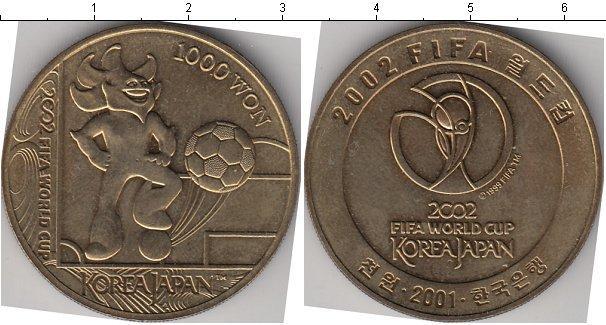 Каталог монет - Корея 1000 вон