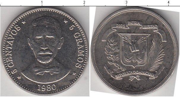 Каталог монет - Доминиканская республика 5 сентаво